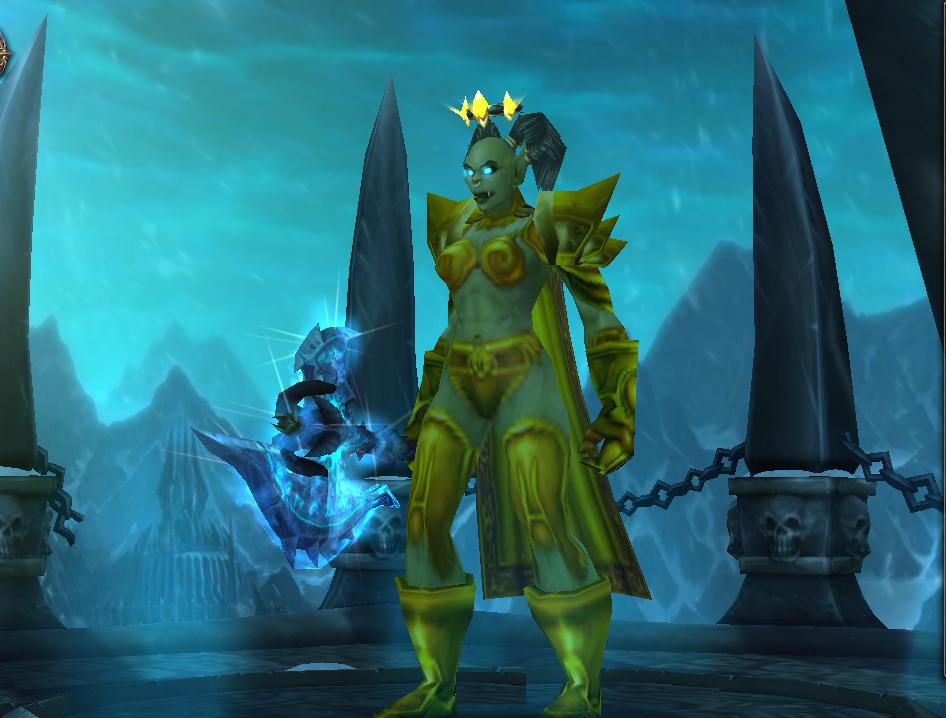 Frost-DK | Вселенная World of Warcraft | 718x946